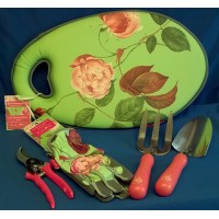 ROYAL HORTICULTURAL SOCIETY ROSA CHINENSIS GARDENING SET - MID SEASON SALE – 30% OFF – WAS £89.99